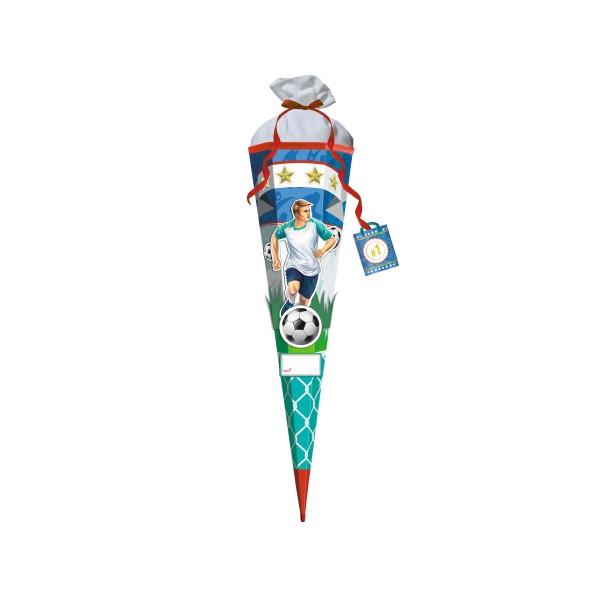 Roth 3D-ST zum Selbstbasteln, Stürmer Sam, 80cm, eckig, Rot(h)-Spitze, Filzverschluss