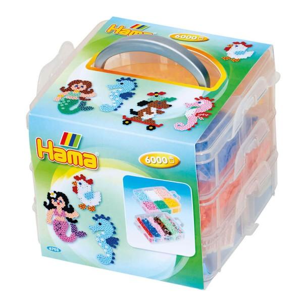 Hama Aufbewahrungsbox, gefüllt