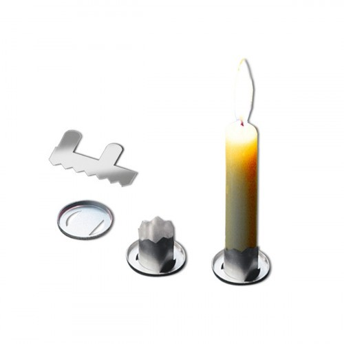 URSUS Kerzenhalter aus Metall 1 Stk.