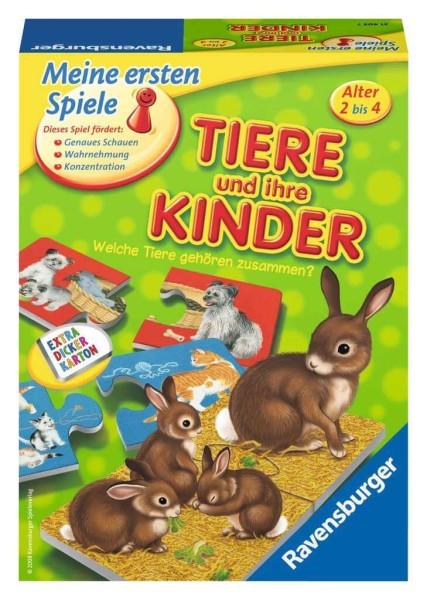 Ravensburger Legespiel Tiere und ihre Kinder