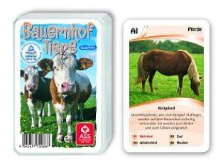 Top Ass Quartett Bauernhoftiere