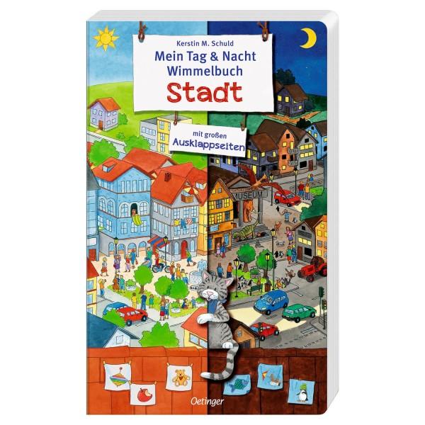 Schuld, Tag & Nacht Wimmelbuch Stadt