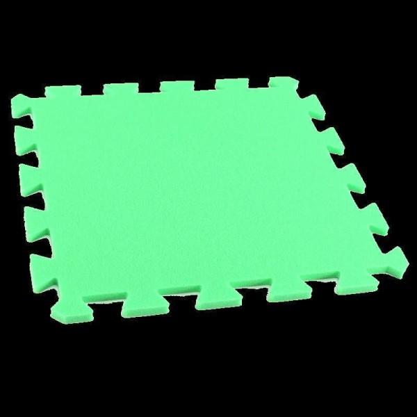 Bodenmatte Puzzlematten Einzelteile - 8 mm - grün