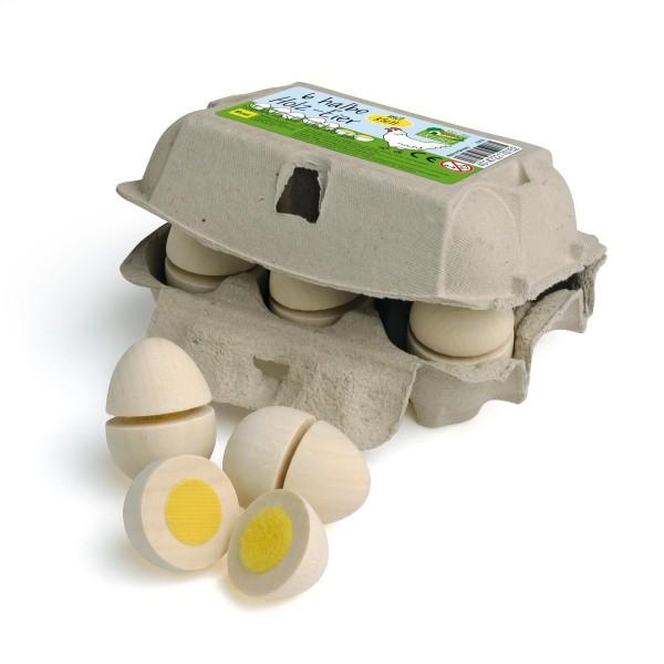 Erzi Eier zum Schneiden im Karton - Kaufladenzubehör