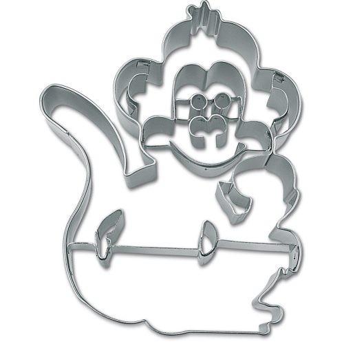 Ausstecher Affe