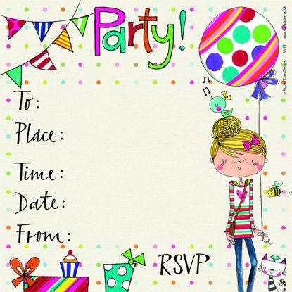 Einladung Girls (Rachel Ellen)