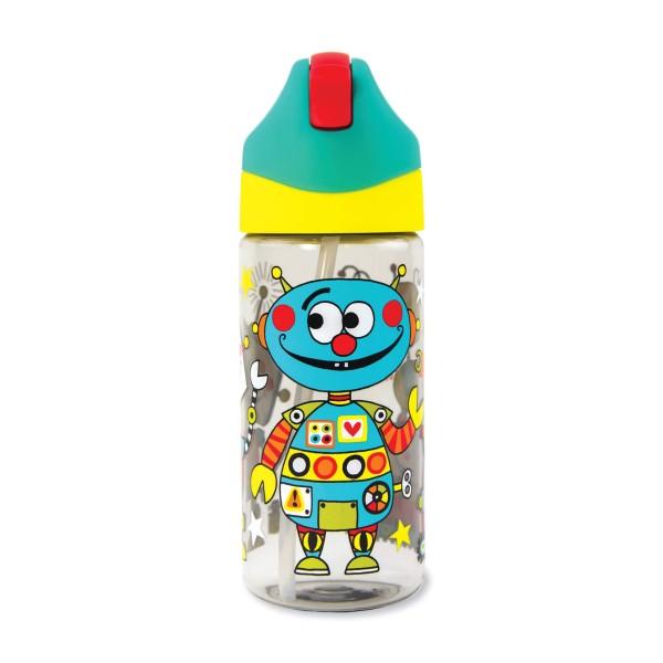 Trinkflasche Roboter