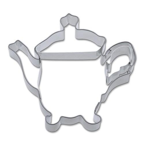 Ausstecher Teekanne