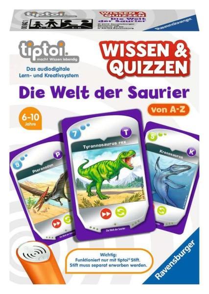 tiptoi® Wissen und Quizzen: Die Welt der Saurier