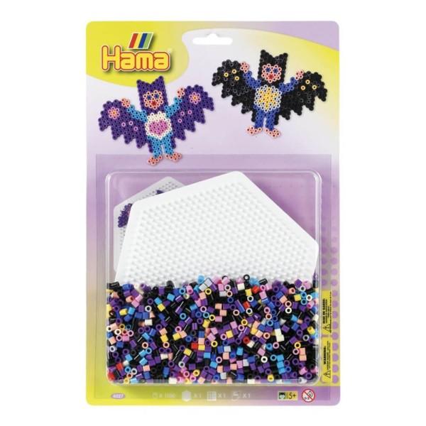 Hama Blister Fledermaus Bügelperlen mit 1x Stiftplatte