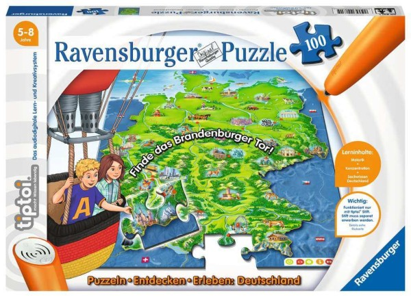 tiptoi® Puzzeln, Entdecken, Erleben: Deutschland