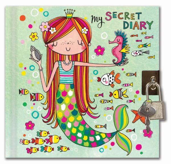 Tagebuch Meerjungfrau (Hellgrün)