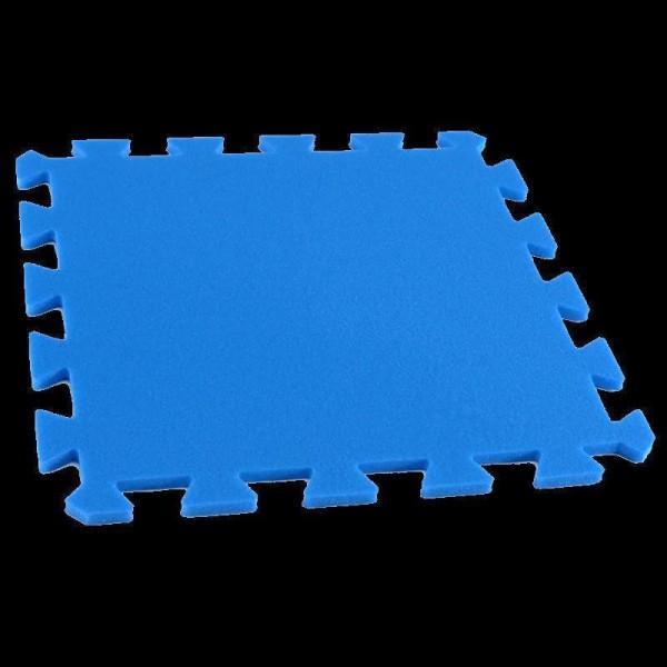 Bodenmatte Puzzlematten Einzelteile - 8 mm - blau