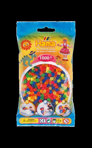 Hama Bügelperlen 1000 Stk. neonmix