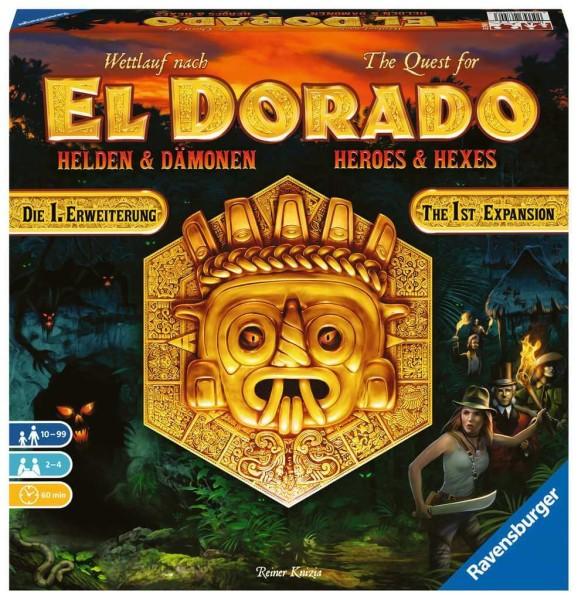 Ravensburger Wettlauf nach El Dorado - Helden und Dämonen - Wettlaufspiel