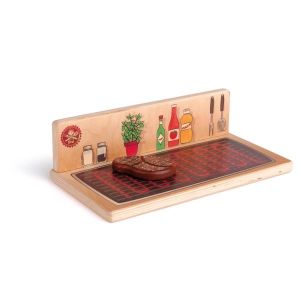 Erzi Tischgrill & Kochplatte - Kaufladenzubehör