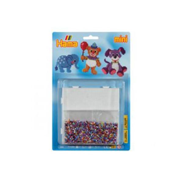 Hama Blister Teddy mit 5000 Mini-Bügelperlen und 1x Stiftplatte