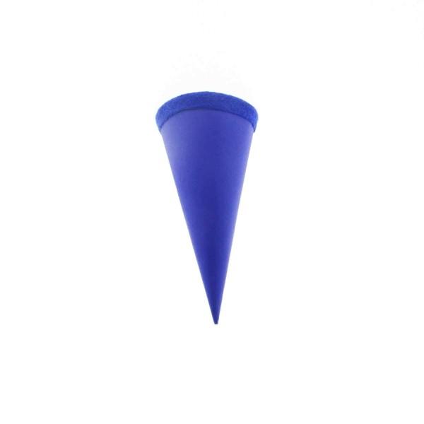 Goldbuch Geschenktüte - 15cm - blau- blauer FIlzverschluss
