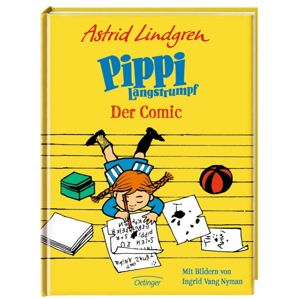 Lindgren, Pippi Langstrumpf Comic
