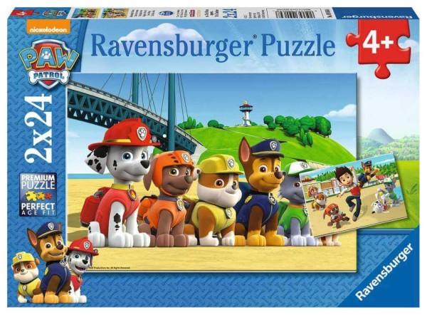 Ravensburger Kinderpuzzle Heldenhafte Hunde