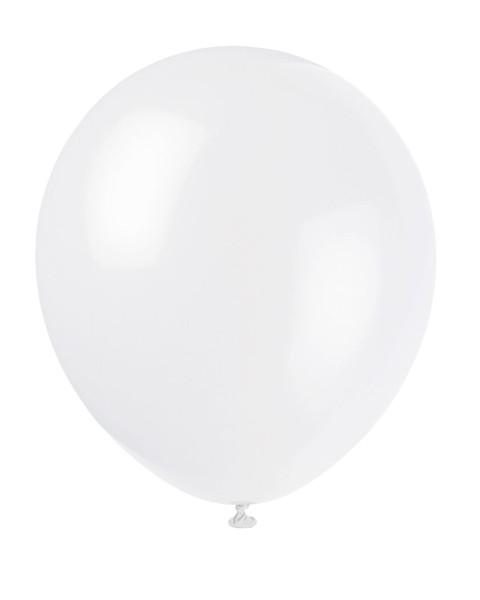 Luftballons Weiss