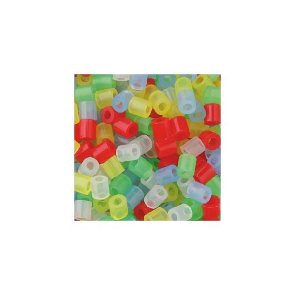 Nabbi® Bügelperlen Ø 5mm, 20.000 Stk., Transparent Mix