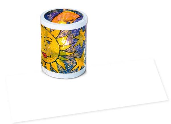 URSUS Laternenzuschnitt Kreativfolie 20x50cm Kreativfolie 1 Bogen